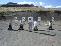 Terry Kohler - on left - at Marksmanship Matters class 02